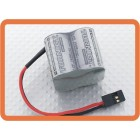 Turnigy 2/3A 4.8V 1500mAh High Power Series NiMH Receiver Pack