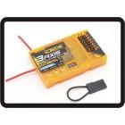 OrangeRX RX3S 3-Axis Flight Stabilizer w/DSM2 Compatible 6CH 2.4Ghz Receiver