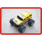1/24 Hobby Grau RC Big Foot Carro Off Road Hummer 4WD*