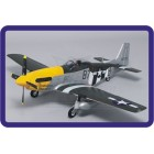 P-51D Mustang Durafly® ™  com flaps /retracts /luzes  1100mm (PNF)