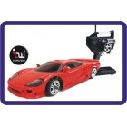 IWAVER 02M  SALEEN S7 RED RC CAR 01:28 FM RTR MINI -Z
