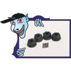 Hex Hub 12 milímetros w / pin (4pcs/bag) - Turnigy Trailblazer 1/8