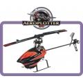 WLtoys V933 2.4GHz 6 Canais Controle Remoto RC Helicopter RTF - VERMELHO