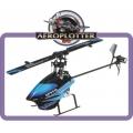 WLtoys V933 2.4GHz 6 Canais Controle Remoto RC Helicopter RTF - AZUL