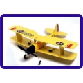 GUAN'LI TIGER MOTH 4CH BRUSHLESS RC BIPLANE - PNF