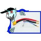 Plug XT60 Harness para 2S Hardcase Lipo (1pc)