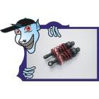 Trackstar 1/10 Car Oil alumínio Cheio ajustável Shock Absorber Set 62 milímetros (2PC)