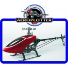 HK-550TT Flybarless 3D Torque-Tube Helicopter Kit PARA ELÉTRICO - ARR