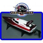 NAUTIMODELO Serpent 2 Mini V-Hull Boat Racing 360 milímetros (RTR)