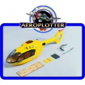 FUSELAGEM EC-135 Fiberglass para 450