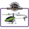HELIMODELO FP100 2.4Ghz 4CH Micro Helicopter Mode 2 (BNF) V911 COMANDER