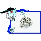 8 milímetros Hexagon End Ball (6pcs) - A3015