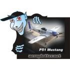 AEROMODELO Micro NINE EAGLE P-51 4CH -  2.4Ghz Airplane w/ 2.4Ghz (RTF)