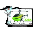 HELIMODELO Nine Eagles (NE-R/C-228A-G) Solo Pro 228P 4CH Helicopter RTF (Green) - 2.4GHz