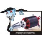 MOTOR Outrunner Brushless Motor Park 450- KV1120