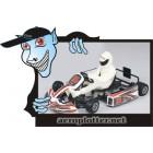 AUTOMODELOTurnigy 1:04 Scale Brushless chassis de liga de GoKart (kit) ARR