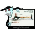 KIT HELIMODELO HKH 450 com Chassi Fibra Preto (VERS. UPGRADE LARANJA) - 6CH 3D