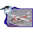 AEROMODELO Micro Cessna 182 w/Nav Lights 550mm (PNF)