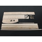 AEROMODELO Cuckoo Laser Cut Kit 580mm (KIT)
