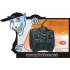 TRANSMISSOR  2.4G 7 Channel remote TX and RX for Heli and Airplane R7AH-2400