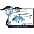 HELIMODELO F1-SERIES F103 MICRO HELICOPTER COM GYRO - 3,5CH - BLUE - RTF