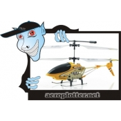 HELIMODELO XY X902A Air 3.5CH Mini RC Helicopter w/ Gyro, Auto Demo Function (Yellow)