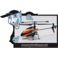 HELIMODELO FP100 2.4Ghz 4CH Micro Helicopter Mode 2 (RTF)