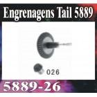 ENGRENAGEM DE CAUDA  GT MODEL 5889**