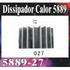RADIADOR GT MODEL 5889*