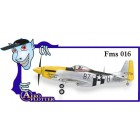 AEROMODELO  Mini P51 VERDE - KIT ARF