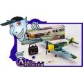 AEROMODELO ME109 -TS823 - TIAN SHENG - ARF*