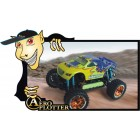 AUTOMODELO ESCALA 1/16th  Eléctrico Off Road Monster Truck - RTR