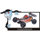 AUTOMODELO HSP Eidolon Mini Buggy Racer (1/18 Red & Silver)