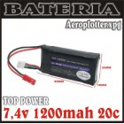 BATERIA TOP POWER 7.4V 1200MAH 20C