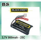 BATERIA 3.7V 900MAH 25C BLACKSWIFT