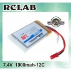 BATERIA RCLAB HIGHPERFORMANCE 7.4V 1000MAH 12C