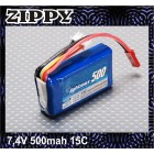 BATERIA ZIPPY FLIGHTMAX 500MAH 2S1P 20C