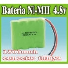 BATERIA 4.8V 1800MAH NI-MH RECHARGERABLE