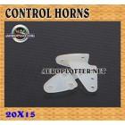 CONTROL HORNS 20X15*