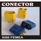 CONECTOR XT60 FEMEA