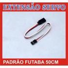 EXTENSÃO DE SERVO PADRÃO FUTABA 50CM