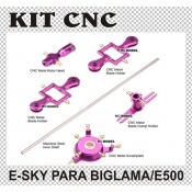 KIT CNC PARA Esky BIG LAMA & ESKY 500 (PURPLE)