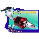 OUTRUNNER BRUSHLESS Poder 600motor KV 32 para aeronaves