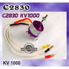 C2830KV1000 OUTRUNNER BRUSHLESS MOTORS