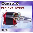 OUTRUNNER BRUSHLESS PARK 400- KV850MOTOR FOR AIRCRAFT