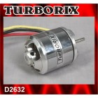 TURBORIX 3400RPM/V 255W D2632 RC BRUSHLESS MOTOR
