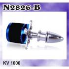 N2826-B KV1000 OUTRUNNER BRUSHLESS MOTOR