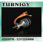 MOTOR TURNIGY P2627L EDF OUTRUNNER 4200KV FOR 55/64MM