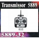 TRANSMISSOR GT MODEL 2,4GHZ - 4CH
