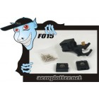 F015 Trex 450 Conjunto eixo principal Localizando & Lock lança Cauda